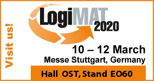 Visit us at booth EO60 at Logimat 2020