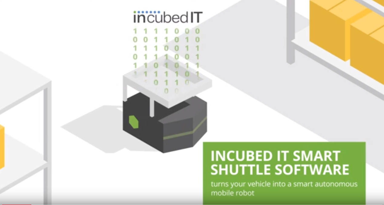 incubed it - smart shuttle software for autonomous mobile robots